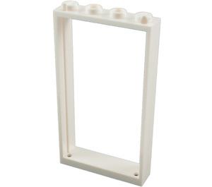 LEGO White Door Frame 1 x 4 x 6 Single Sided (40289 / 60596)
