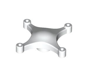 LEGO White Drone Body (66967)