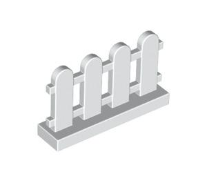 LEGO White Fence 1 x 4 x 2 Picket (33303)