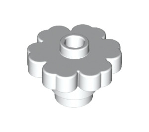 LEGO White Flower 2 x 2 with Open Stud (4728 / 30657)