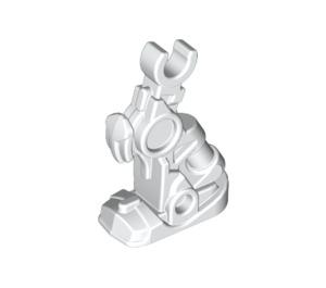 LEGO White Hero Factory Figure Robot Leg (15343)