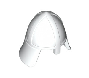 LEGO White Knights Helmet with Neck Protector (3844)