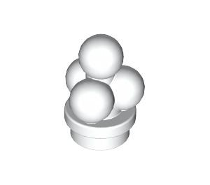LEGO White Minifig Ice Cream Scoops (6254)