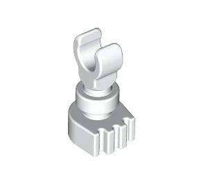 LEGO White Minifig Skeleton Leg (6266 / 31733)