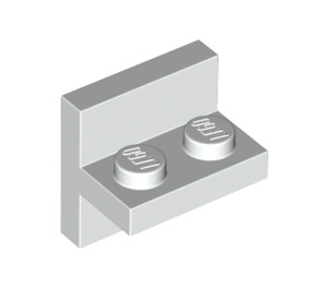 LEGO White Plate 1 x 2 with Vertical Tile 2 x 2 (41682)