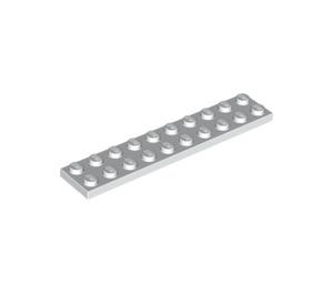 LEGO White Plate 2 x 10 (3832)