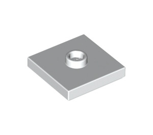 LEGO White Plate 2 x 2 with Groove and 1 Center Stud (23893 / 87580)