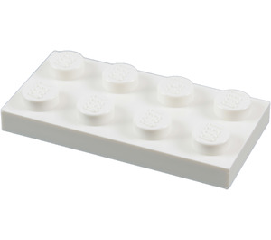 LEGO White Plate 2 x 4 (3020)