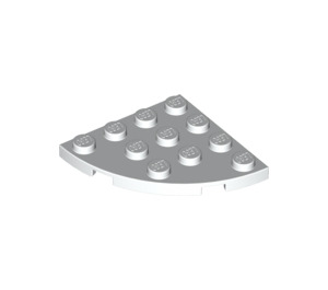 LEGO blanc assiette 4 x 4 Rond Coin (30565)