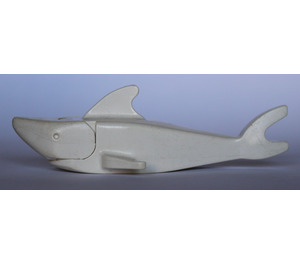 LEGO White Shark with Pointed Nose