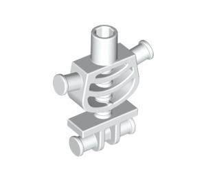 LEGO White Skeleton Body with Shoulder Rods (60115)