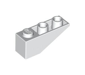 LEGO White Slope 1 x 3 (25°) Inverted (4287)