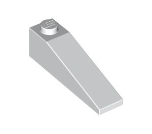 LEGO White Slope 1 x 4 x 1 (18°) (60477)