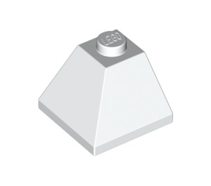 LEGO White Slope 45° 2 x 2 (3045)