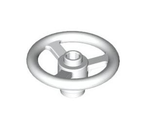 LEGO White Small Steering Wheel (2819)