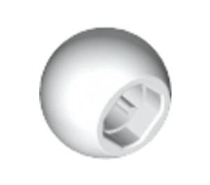 LEGO White Technic Ball (32474)