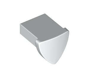 LEGO White Tile 1 x 1 with Shield (35463)