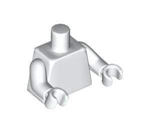 LEGO White Torso with Arms and Hands (76382 / 88585)
