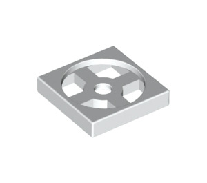 LEGO White Turntable 2 x 2 Plate Base (3680)