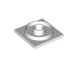 LEGO White Turntable 4 x 4 Base (3403)