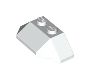 LEGO White Wedge 2 x 4 Triple (47759)