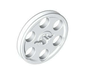 LEGO White Wedge Belt Wheel (4185)