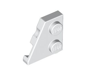 LEGO White Wedge Plate 2 x 2 (27°) Left (24299)