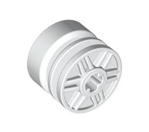 LEGO White Wheel Rim Ø18 x 14 with Axle Hole (55982)