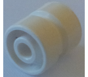 LEGO White Wheel Rim Wide Ø11 x 12 with Round Hole (6014)