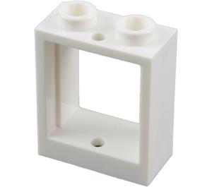 LEGO White Window 1 x 2 x 2 (60592)