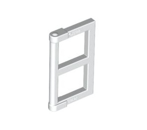 LEGO White Window 1 x 2 x 3 Pane with Thick Corner Tabs (28961 / 60608)