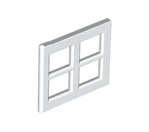 LEGO White Window 2 x 4 x 3 Pane (4133)