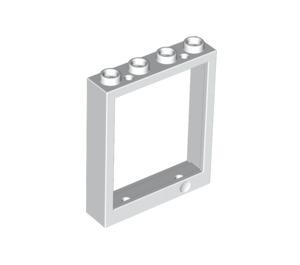 LEGO White Window Frame 1 x 4 x 4 (6154 / 40527)