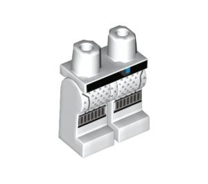 LEGO White Zane Minifigure Hips and Legs (37052)