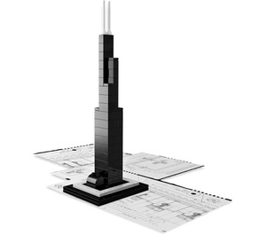 LEGO Willis Tower Set 21000-2