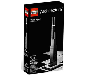 LEGO Willis Tower Set 21000-2 Packaging