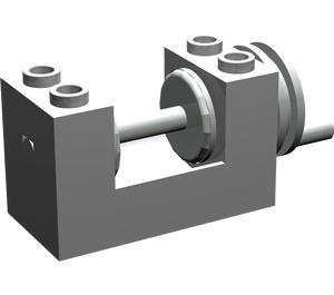 LEGO Winch 2 x 4 x 2 with Light Grey Drum (73037)