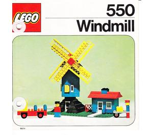 LEGO Windmill Set 550-2 Instructions
