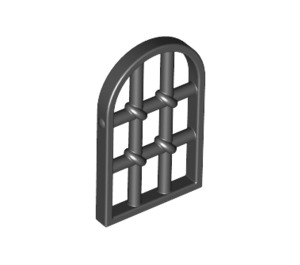 LEGO Window 1 x 2 x 2.667 Pane Twisted Bar with Rounded Top (30045)