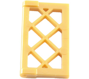 LEGO Window 1 x 2 x 3 Latticed Pane (Reinforced) (60607)