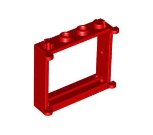 LEGO Window 1 x 4 x 3 with Shutter Tabs (3853)