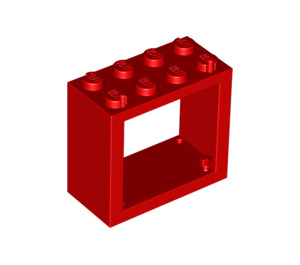 LEGO Window 2 x 4 x 3 with Rounded Holes (4132)