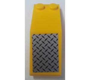 LEGO Windscreen 5 x 2 x 1 & 2/3 with Sticker (6070)