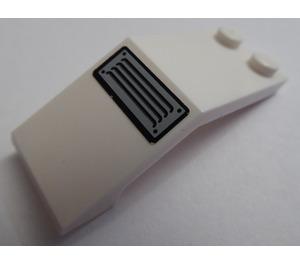 LEGO Windscreen 5 x 2 x 1 & 2/3 with Sticker from Set 7726 (6070)