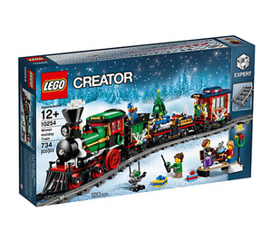 LEGO Winter Holiday Train Set 10254 Packaging