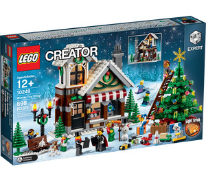 LEGO Winter Toy Shop Set 10249 Packaging