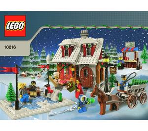 LEGO Winter Village Bakery Set 10216 Instructions