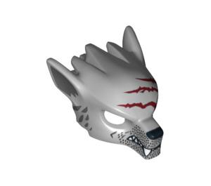 LEGO Winzar Minifigure Wolf Head (12828)
