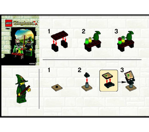LEGO Wizard Set 7955 Instructions