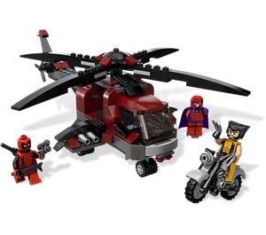 LEGO Wolverine's Chopper Showdown Set 6866
